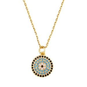 Jewelry - Evil eye necklace gold